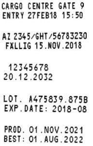 Reiner jetStamp 790/792 Sample Prints