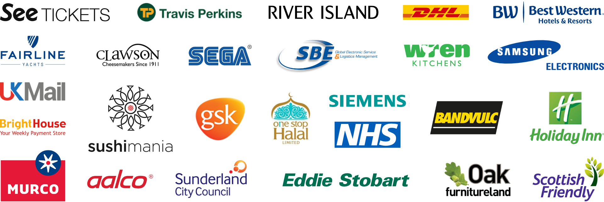 Companies & Partners we've worked with