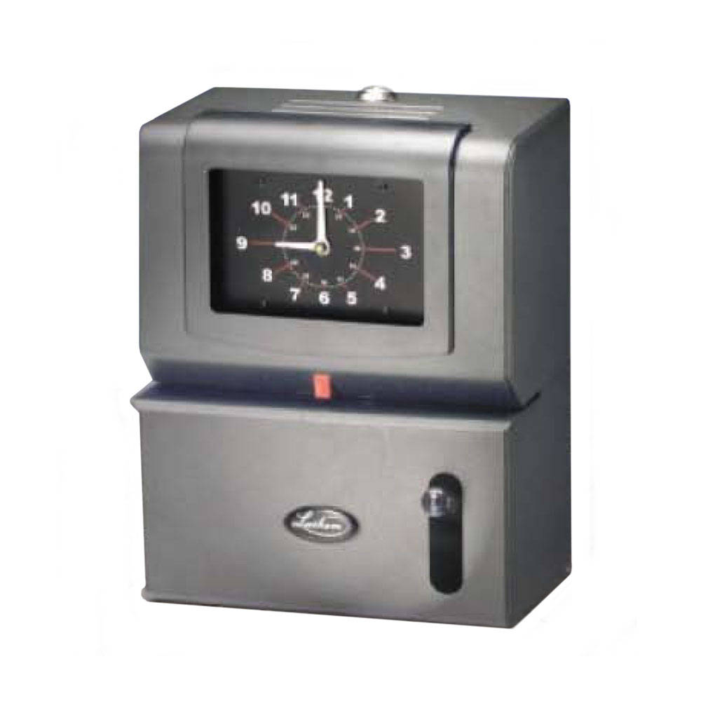 Lathem 2100 Battery Operated Time Clock Package